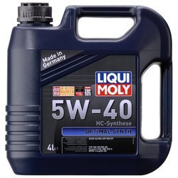 LIQUI MOLY Optimal Synth 5W-40 4 л