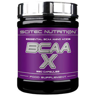 BCAA Scitec Nutrition BCAA-X (330 капсул)