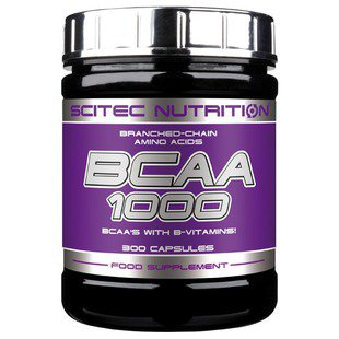 BCAA Scitec Nutrition BCAA 1000 (300 капсул)