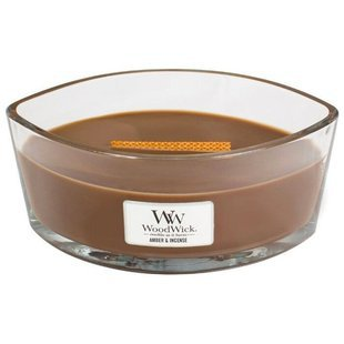 Свеча WoodWick Amber & Incense (76041), эллипс