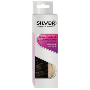 Щетка для обуви SILVER Horse Hair Brush